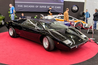 Lamborghini Countach LP400 by Bertone 1975 black fr3q