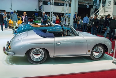 Porsche 356 A 1600 Super convertible D by Drauz 1959 side