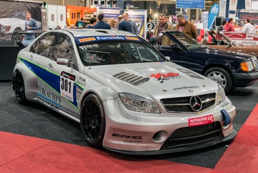 AMG Mercedes C 63 W204 Superstars V8 2010 fr3q