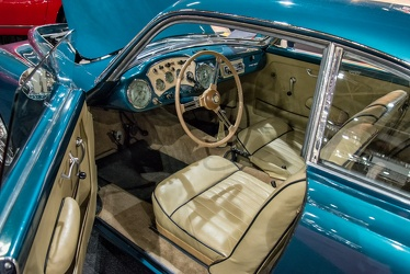 Arnolt MG TD coupe by Bertone 1953 interior