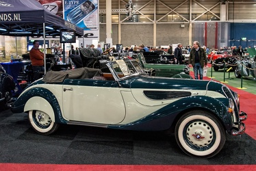 BMW 327 sport cabriolet 1938 side