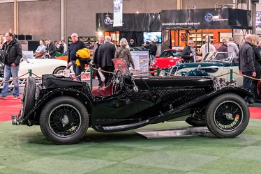 Jaguar SS 90 1935 black side