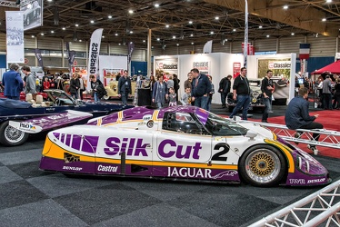 Jaguar XJR-9 Le Mans Group C 1988 side