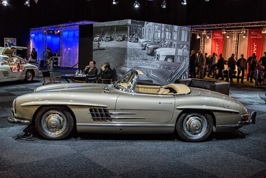 Mercedes 300 SL roadster 1957 side