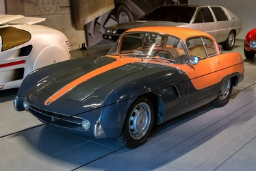 Abarth 209 A coupe by Boano 1955 f3q