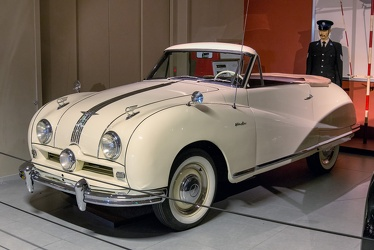 Austin A90 Atlantic convertible 1949 f3q