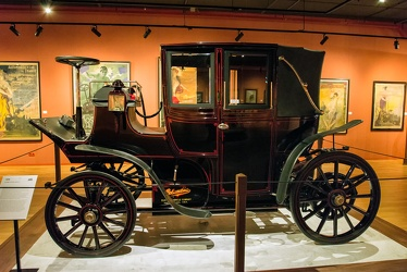 Columbia Mk XXXV electric landaulet 1899 side