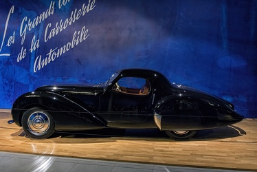 Delahaye 135MS coupe by Pourtout 1946 side