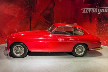 Ferrari 166 Inter Aerlux berlinetta by Touring 1949 side