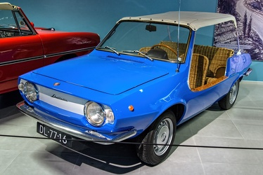 Fiat 850 Shellette spider by Michelotti 1976 fl3q