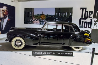 Lincoln Continental 2-door coupe 1941 side