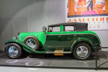 Mercedes 630 K La Baule torpedo transformable by Saoutchik 1926 side