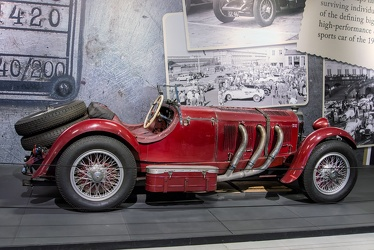 Mercedes 720 SSK 1929 side
