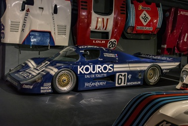 Sauber Mercedes C8 Group C 1985 fl3q