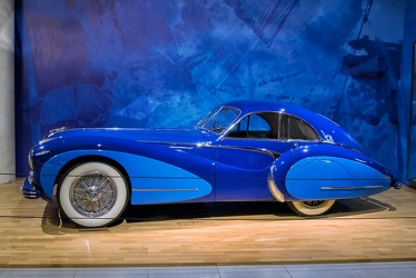 Talbot Lago T26 Grand Sport coupe by Saoutchik 1948 side
