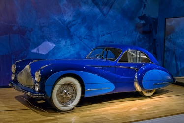 Talbot Lago T26 Grand Sport coupe by Saoutchik 1948 f3q