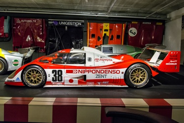 Toyota TS010 Group C Le Mans 1993 side
