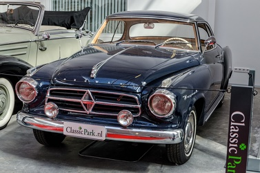 Borgward Isabella S2 coupe 1960 blue fl3q
