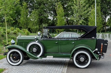 DeSoto Series K phaeton 1930 side
