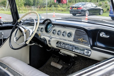 Dodge Custom Royal Lancer hardtop sedan 1956 interior