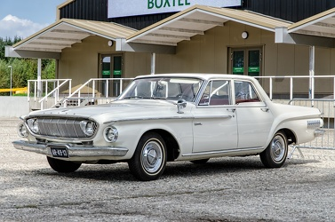 Dodge Dart I6 4-door sedan 1962 white fl3q