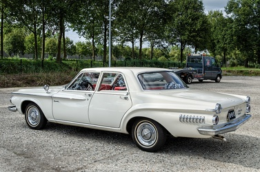 Dodge Dart I6 4-door sedan 1962 white r3q