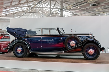 Horch 830 BL 4-door cabriolet 1936 side