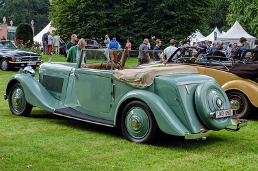 Bentley 3.5 Litre DHC by Park Ward 1935 r3q