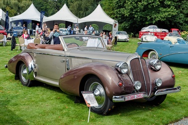 Delahaye 135MS cabriolet by Vesters & Neirinck 1946 fr3q