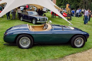 Ferrari 166 MM barchetta by Touring 1950 side