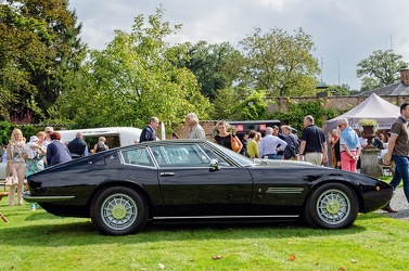 Maserati Ghibli I SS coupe by Ghia 1972 side