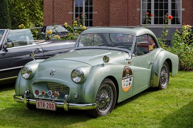 Triumph TR2 Francorchamps coupe by Imperia 1955 fl3q