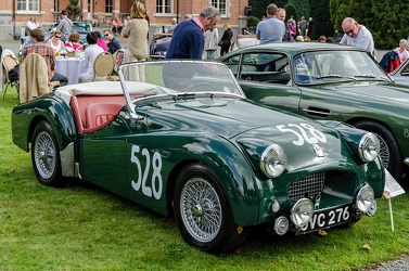 Triumph TR2 works rally car 1954 fr3q