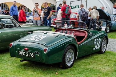 Triumph TR2 works rally car 1954 r3q