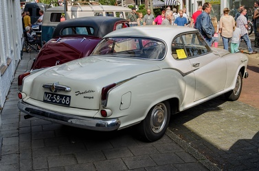 Borgward Isabella S2 coupe 1960 cream r3q