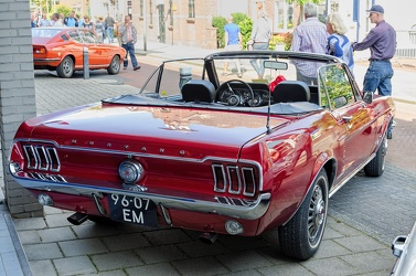 Ford Mustang S1 convertible coupe 1967 r3q