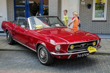 Ford Mustang S1 convertible coupe 1967 fr3q