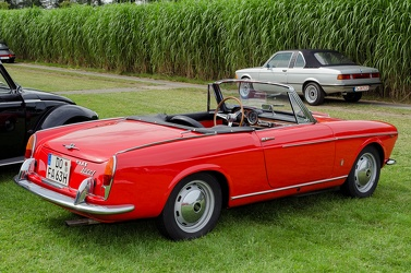 Fiat 1600 S cabriolet S1 by Pininfarina 1963 r3q