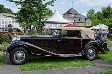 Horch 670 cabriolet 1932 side