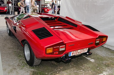 Lamborghini Countach LP400 by Bertone 1975 red r3q