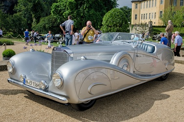 Mercedes 500 K roadster by Erdmann & Rossi replica 1935 fl3q