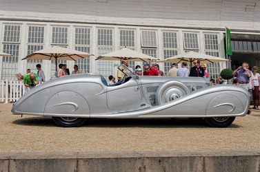 Mercedes 500 K roadster by Erdmann & Rossi replica 1935 side