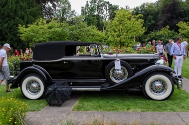 Packard 1004 Super Eight victoria convertible 1933 side