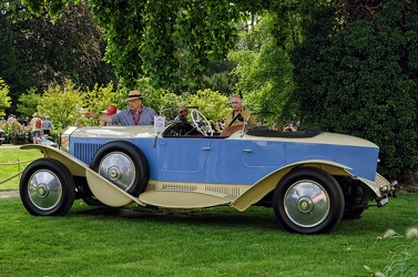 Rolls Royce Phantom II 1929 boattail tourer rebody by Vert 1967 side