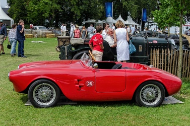Siata Super Testa 500 1940 sport spider rebody by Vignale 1955 side