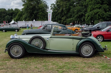 Alvis Speed 25 SC DHC 1939 side