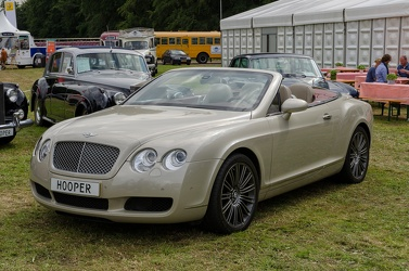Bentley Continental GTC S1 2007 f3q