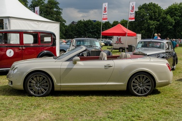 Bentley Continental GTC S1 2007 side