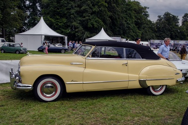 Buick Super convertible coupe 1948 side