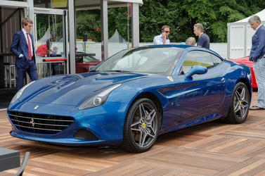 Ferrari California T 2014 blue fl3q